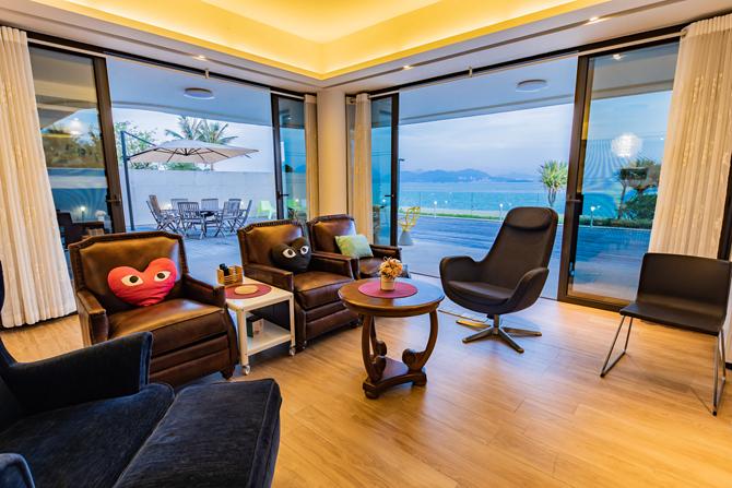 惠州小径湾-海景3房(带院子、出门沙滩)
